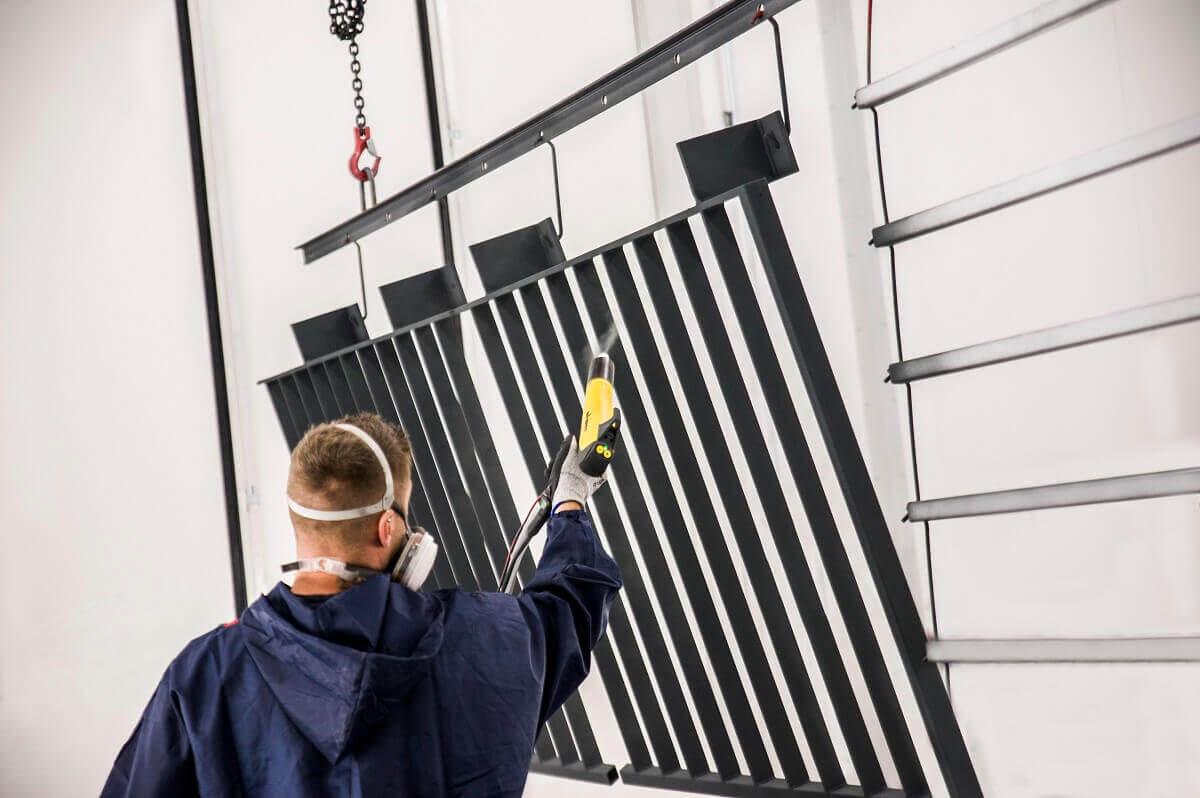 Pulverbeschichtete Geländer und Zäune stehen für Individualität