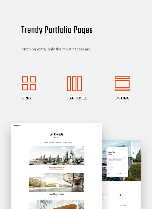 Arquito - 3D Architecture & Interior HTML Template - 9
