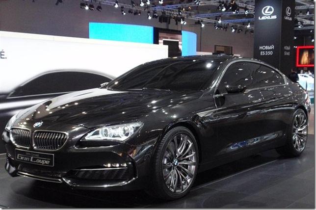 Noul BMW Seria 6 Gran Coupe