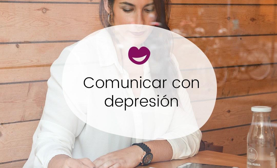Comunicar con depresión