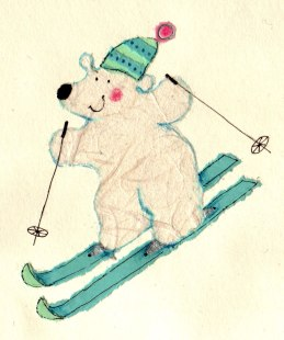 polarbear_skiing