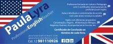 Anuncio Paula Lyra ELT School
