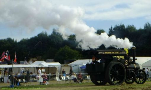 Steam engines in the arena