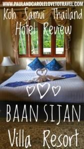 Baan Sijan Villa Resort