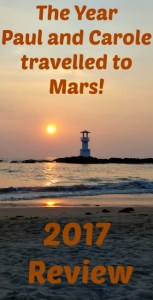 2017 the year paul and carole travelled to Mars