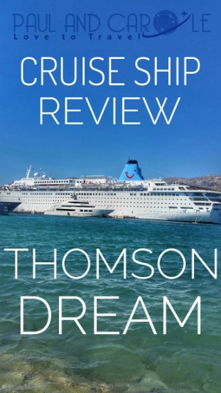 thomson dream cruise ship pinterest review information
