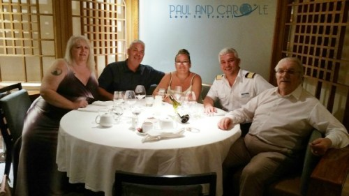 Mistral restaurant Thomson dream cruise ship speciality food excellent