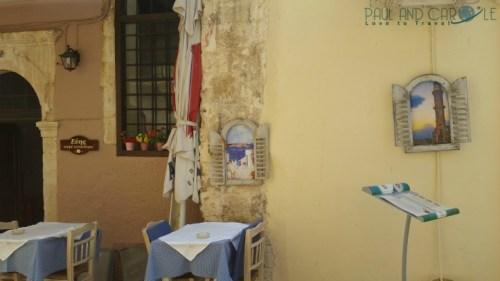 chania crete cruise port destination information guide cafe restaurant food drink