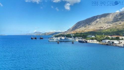 Crete cruise ship port Souda greece greek island