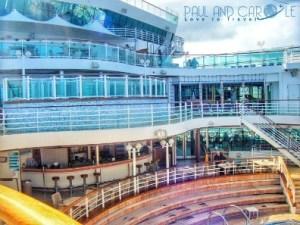 Ventura cruise ship P & O cruising with paul and carole