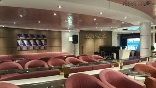 MSC Opera cruise ship lounges La Cabala