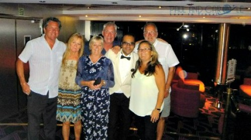 In the Byblos Disco with Shy msc opera cruise ship cruising