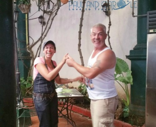 Havana Guide Cuba Paul and Carole Hooters and Habaneros #cuba #havana #guide #information #review #tips #travel #travelling #Caribbean #island #destination #classic #cars #advice #stay #blog #post #bloggers salsa dancing bar