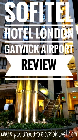 airport information Sofitel Hotel London Gatwick Airport