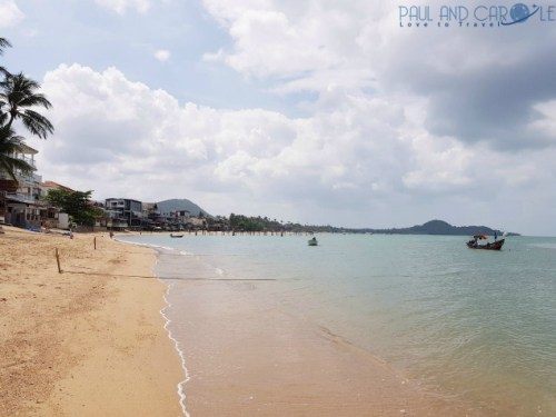 Guide to the best beautiful beaches of Koh Samui Thailand by Paul and Carole Fishermans village bophut