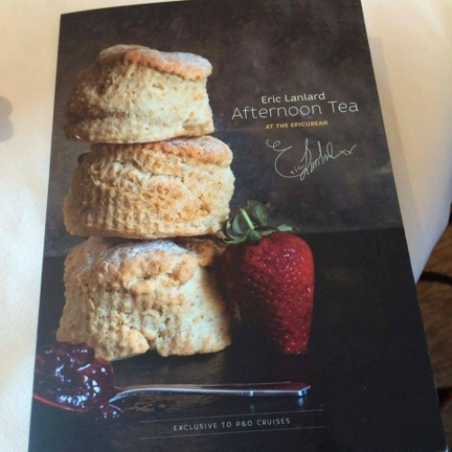 Paul Carole Love Travel P&O cruises guest post cruise blogger afternoon tea