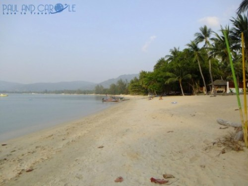 Guide to the best beautiful beaches of Koh Samui Thailand by Paul and Carole lipa noi