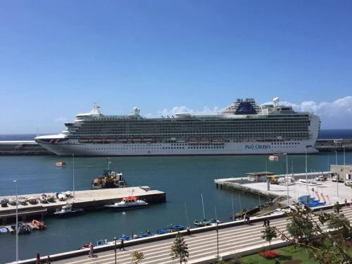Paul Carole Love Travel P&O cruises guest post cruise blogger Azura Madeira