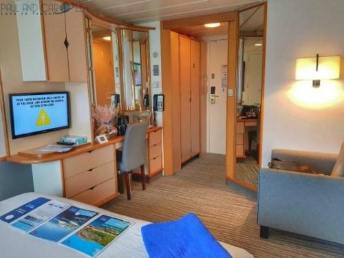 Marella Discovery Cruise Ship Outside Cabin 2544 review #cabin #marella #review #2544 #deck #rwo #discovery #cruise #ship #cruising #stateroom #paul #carole #love #travel
