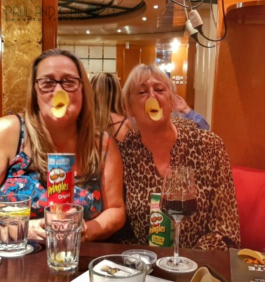 CMV Marco Polo Cruise ship colunbus lounge bar pringles snacks #CMV #cruising #maritime #voyages #marcopolo #marco #polo #cruise #reviews #columbus #bar #party #snacks #lounge #pringles