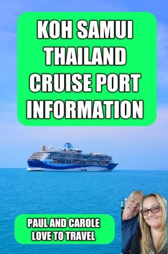 Koh Samui Cruise port information Thailand #lipa #noi #beach #club #Nikki #cruising #cruise #port #review #information #kohsamui #samui #nathon #thailand #marella #discovery #cruiseship