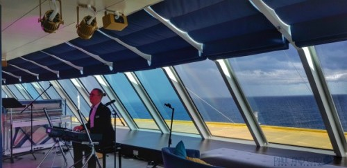 Indigo Lounge on the  Marella Explorer 2 Cruise Ship Review  #indigo #lounge #cruise #ChooseCruise #cruising #marella #MarellaExplorer2 #TUI