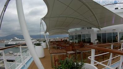 the terrace market place buffet restaurant Marella Explorer 2 Cruise Ship Review    #cruise #ChooseCruise #cruising #marella #MarellaExplorer2 #TUI #explorer #review