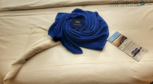 Towel art balcony cabin Marella Explorer  2 Cruise Ship    #cruise #ChooseCruise #cruising #marella #MarellaExplorer2 #TUI #explorer #review