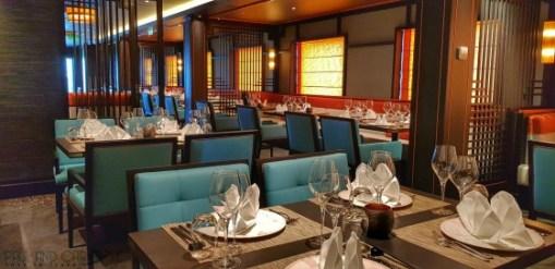 East to West speciality restaurant saga new cruise ship spirit of discovery #saga #cruises #spirit #discovery #SpiritOfDiscovery