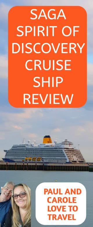 Saga Spirit of Discovery Cruise Ship Review