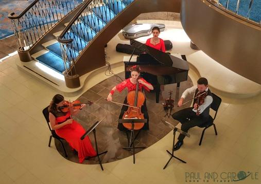 Classical music in the Living Room on Saga new ship #cruise #saga #cruises #SpiritofDiscovery #SagaHolidays #SagaUk
