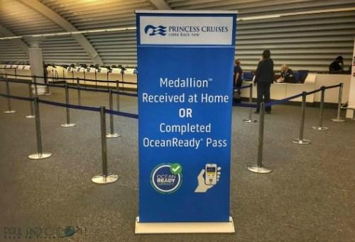 ocean medallion embarkation check in ocean ready princess cruises presentation cruising #oceanmedallion #princesscruises #choosecruise #cruise #oceanready