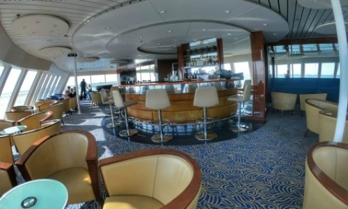 Fred Olsen Braemar observatory bar.#fredolsen #fredolsencruiseline #braemar #cruiseship #choosecruise #cruising #cruise #paulandcarole