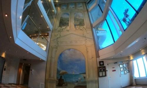 atrium mural.#fredolsen #fredolsencruiseline #braemar #cruiseship #choosecruise #cruising #cruise #paulandcarole