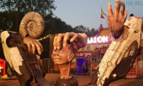 The weird and wonderful ,this perfectly sums up Glastonbury festival - Paul and Carole 2019 Review   #Unfairground #Embracingthemadness #paulandcarole2019review #paulandcarole #travel #travelbloggers #travelvloggers