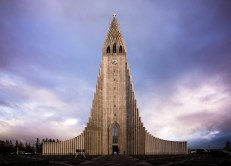 reykjavik Church Iceland Photography