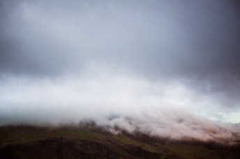 East Iceland Travel fog Photography