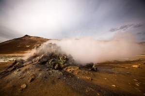 North Iceland myvatn geysir photography