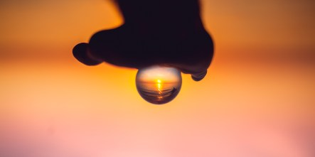 Crystal Ball Sunset Photography
