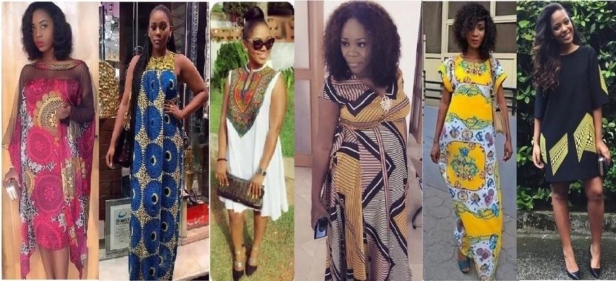 Āfrikas grūtnieču kleitas