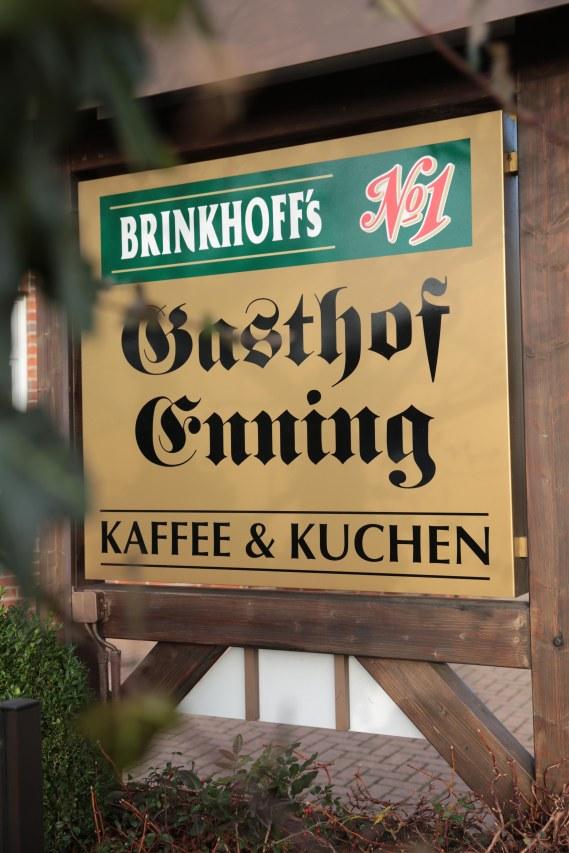 Schild Gasthof Enning Borken-Weseke