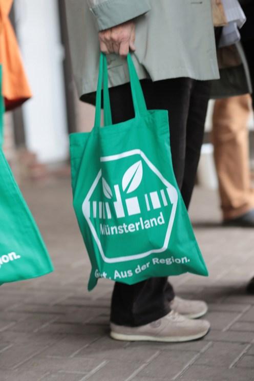 Münsterland in und auf der Tasche