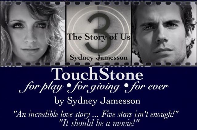 Photo of review quotes from The Story of Us trilogy by author Sydney Jamesson