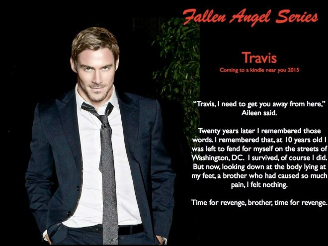 Photo image of Jesse Pavelka, muse for the character of Travis Curran in the Fallen Angel Series by author Tracie Podger