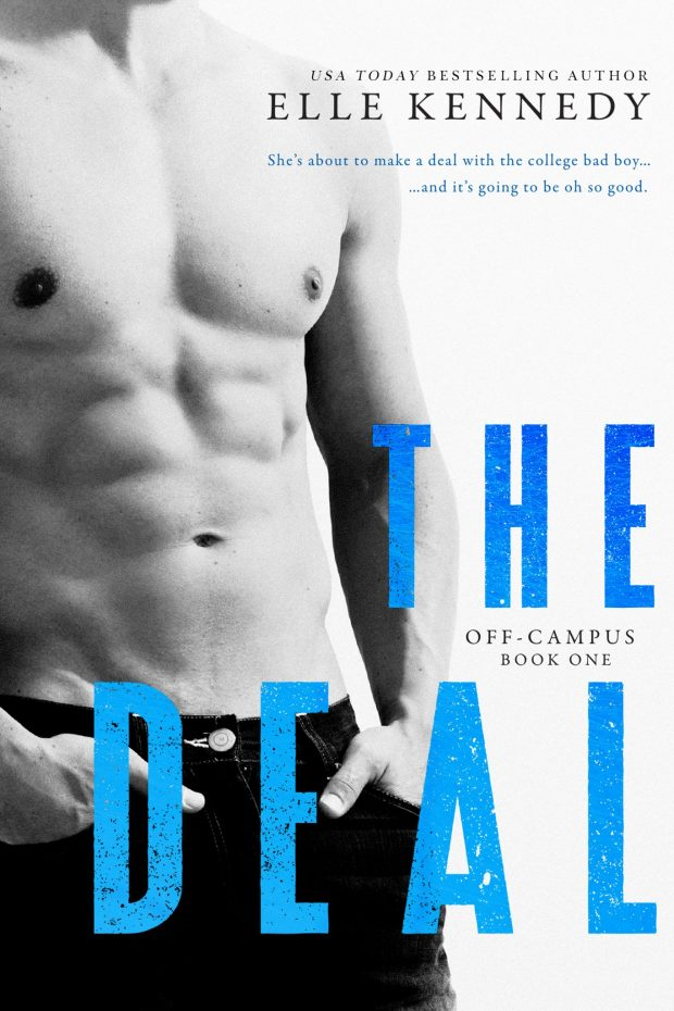 Cover Photo - The Deal, by author Elle Kennedy