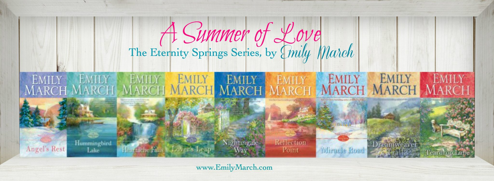 The Eternity Springs book collection - Emily March, author