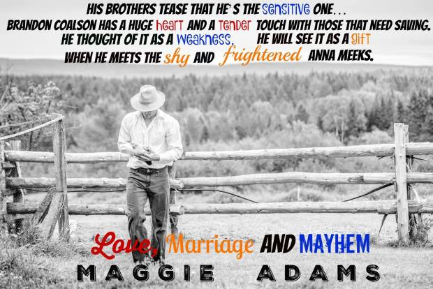 Photo Quote from Love, Marriage and Mayhem by Maggie Adams