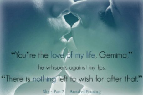 A photo teaser from the She series by Annabel Fanning