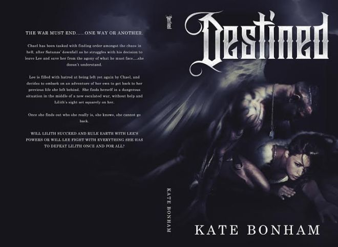 Book Cover Photo-Destined by Kate Bonham