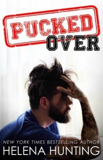 Photo of the cover of Pucked Over, by Helena Hunting